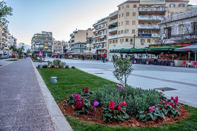 Στο κέντρο της πόλης